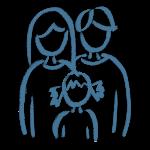 Tik am Tibarg > Marei Schachschneider > Familie: Mutter, Vater und Kind > Blaue Darstellung > Amerikanische Chiropraktik in Hamburgs Norden > 300x300