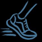 Tik am Tibarg > Marei Schachschneider > Sport > Fuss, Schuh, Blau > Amerikanische Chiropraktik in Hamburgs Norden > 300x300